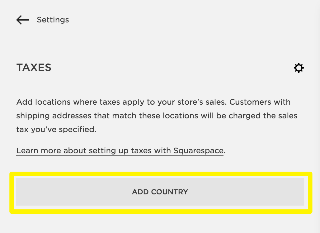 Squarespace help setting up taxes in squarespace commerce taxespanel2g spiritdancerdesigns Choice Image