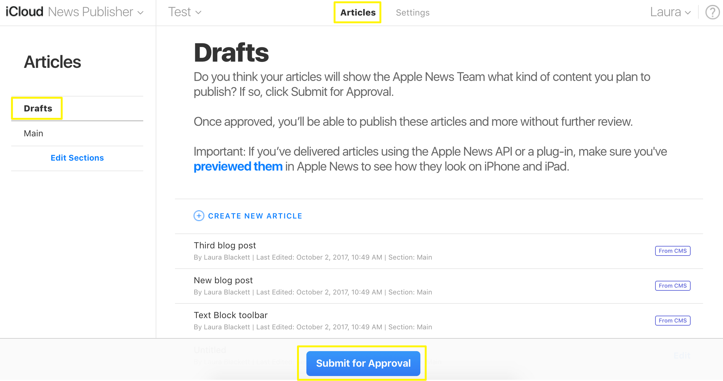 Publishing to Apple News with Squarespace – Squarespace Help