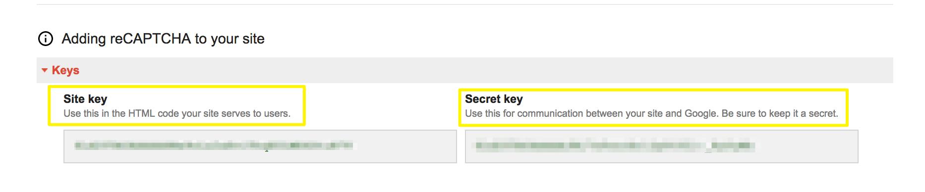 how to get google recaptcha api key