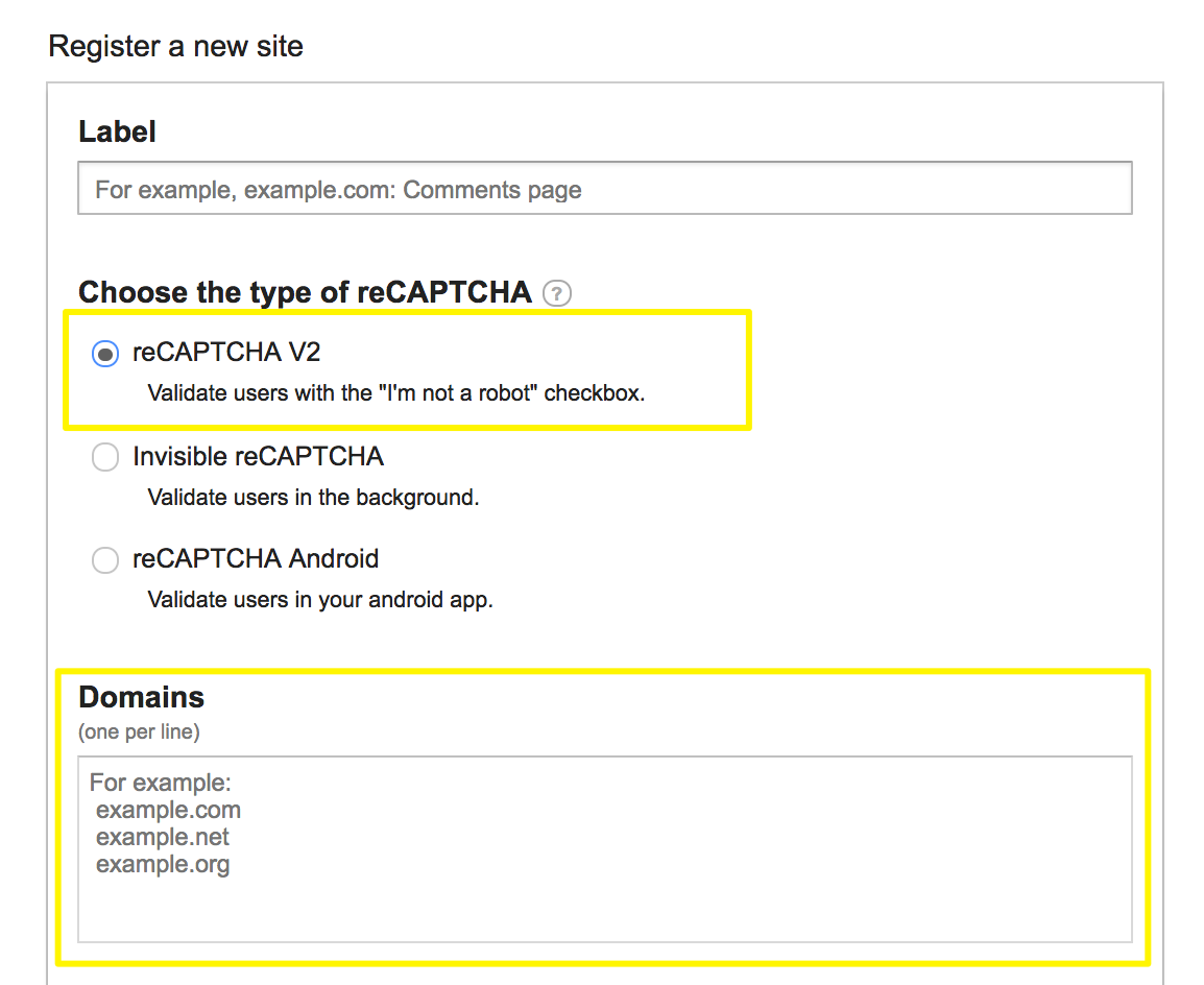 Adding Google Recaptcha To Form Blocks Squarespace Help Block Diagram Captcha 1