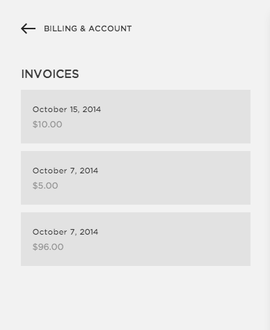 reviewing your squarespace account invoices squarespace help