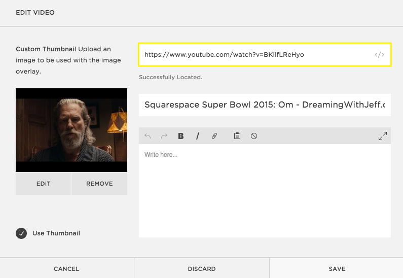 squarespace help adding videos to your squarespace site