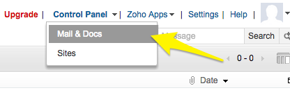 zoho_control_panel_options.png