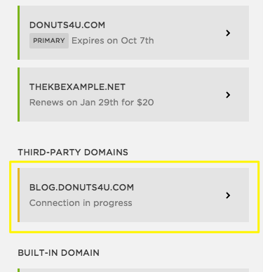 how to create a subdomain in squarespace