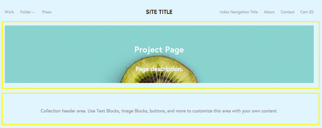 Project Pages York Family Squarespace Help