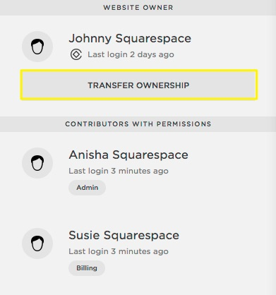 how to change squarespace email