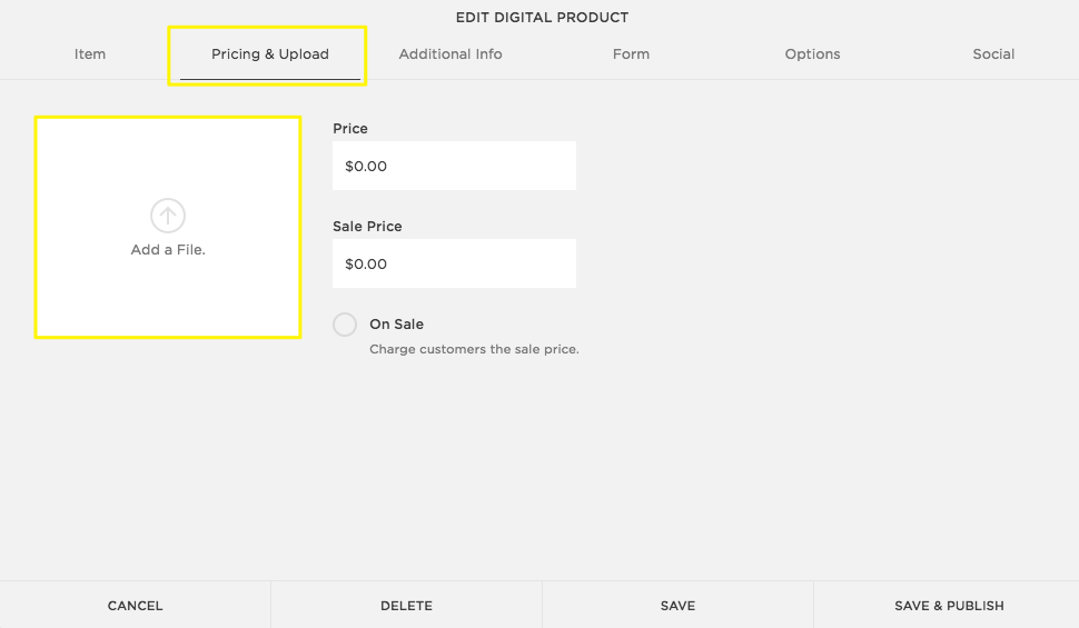 adding products to your store squarespace help