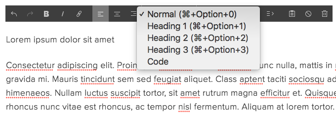 Fixing text formatting – Squarespace Help