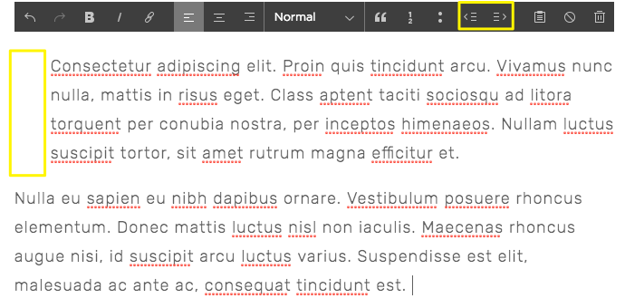 Formatting and styling text – Squarespace Help