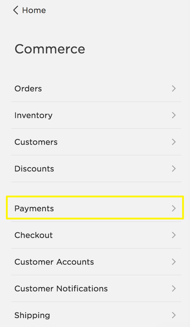 Accepting credit cards with Stripe – Squarespace