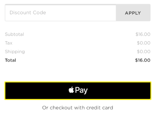 Accepting Apple Pay – Squarespace Help