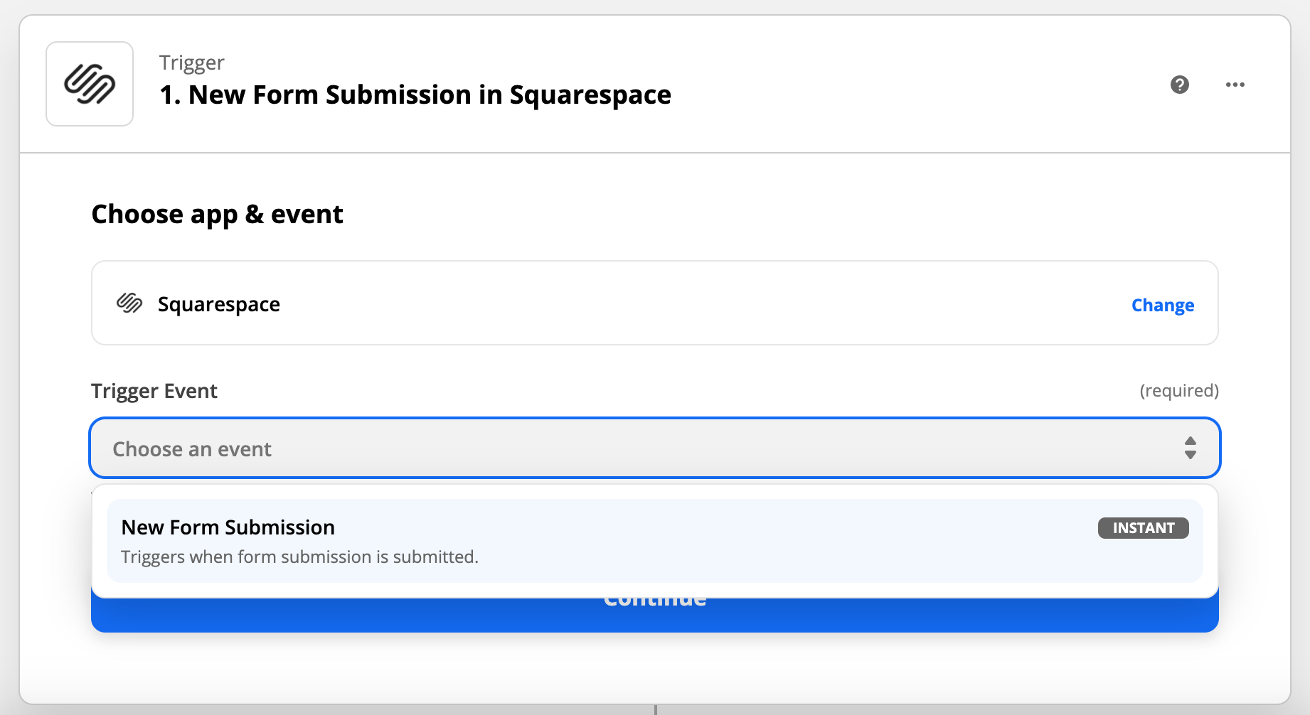 Select_New_Form_Submissions_as_your_trigger_event.png