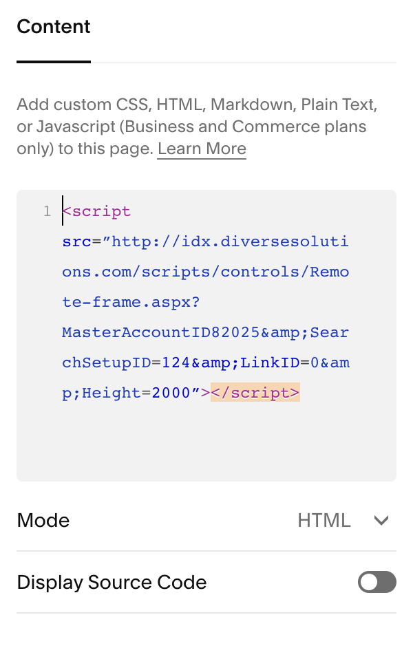 MLS_search_code_added_to_a_Code_Block.png