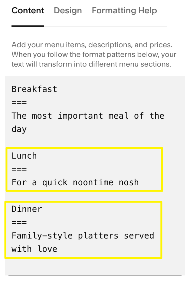 Add_more_menus_below__like_Lunch_and_Dinner__using_the_same_format.png