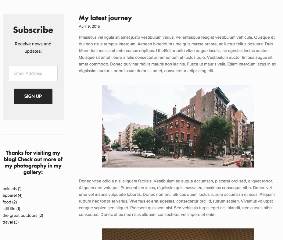 best squarespace template for blog - editing sidebars squarespace help