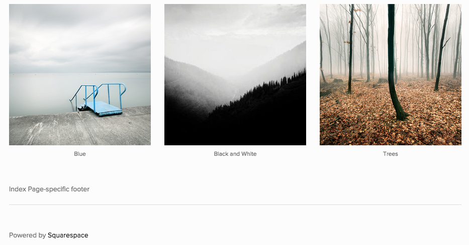 Using The Avenue Template Squarespace Help - Best squarespace template for photographers