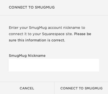 smugmug templates - using smugmug with squarespace help