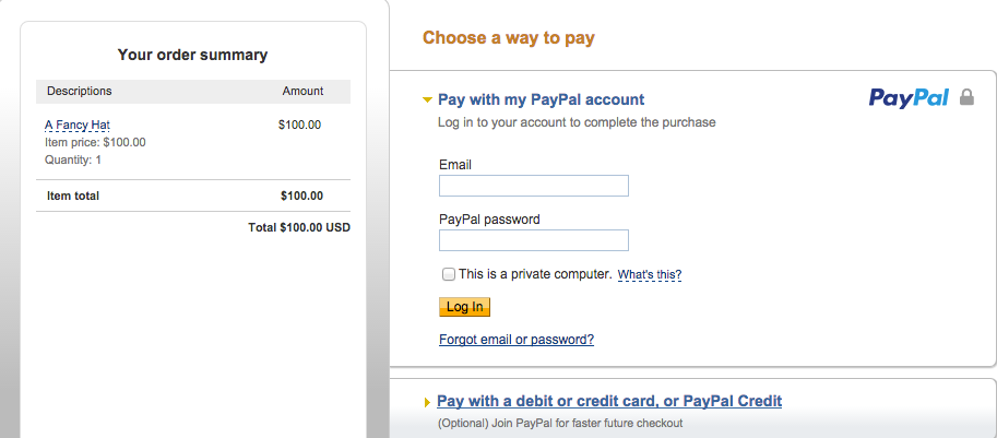 how to add paypal to squarespace