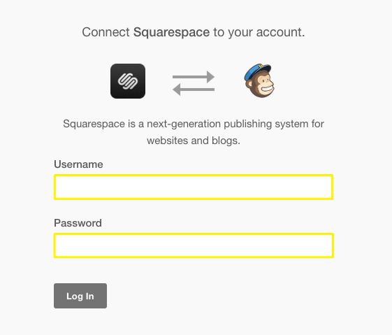 Using Mailchimp With Squarespace Squarespace Help