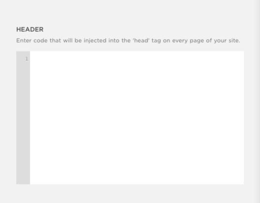Using Code Injection Squarespace Help