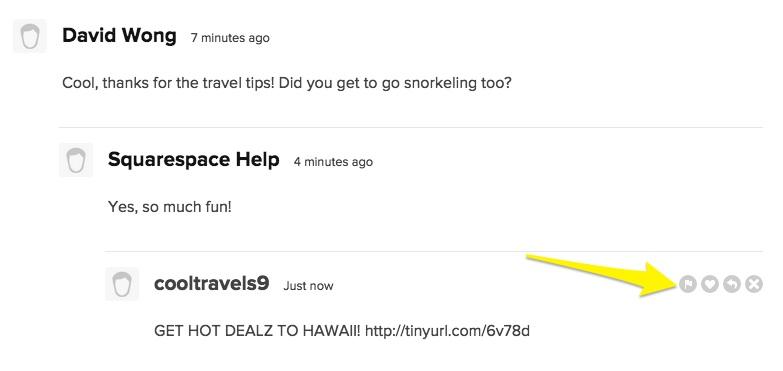 Adding a blog comment – Squarespace Help