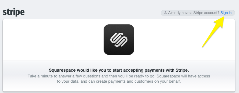 Accepting credit cards with Stripe – Squarespace Help