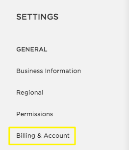 how to cancel squarespace billing