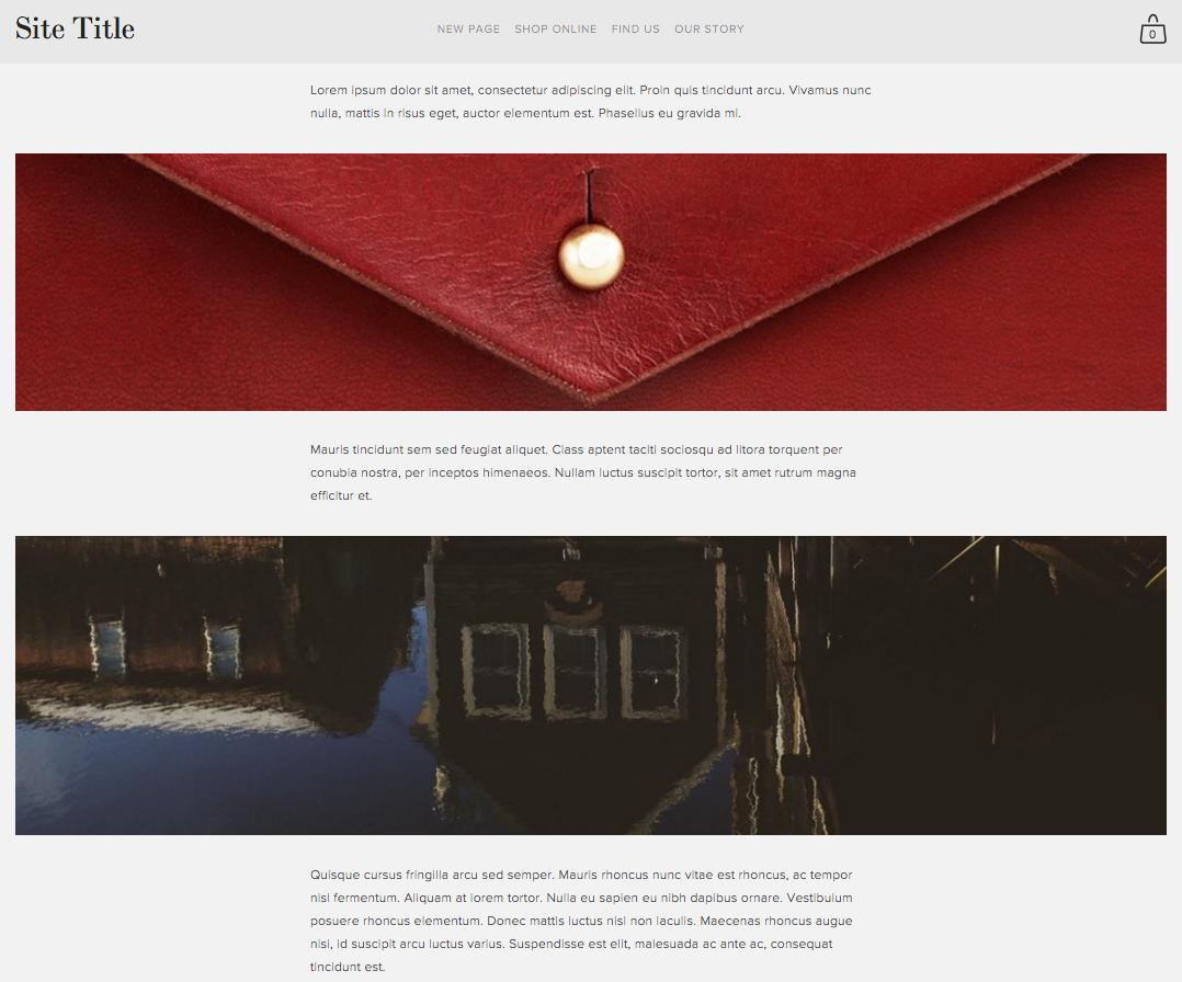 Content inset – Squarespace Help