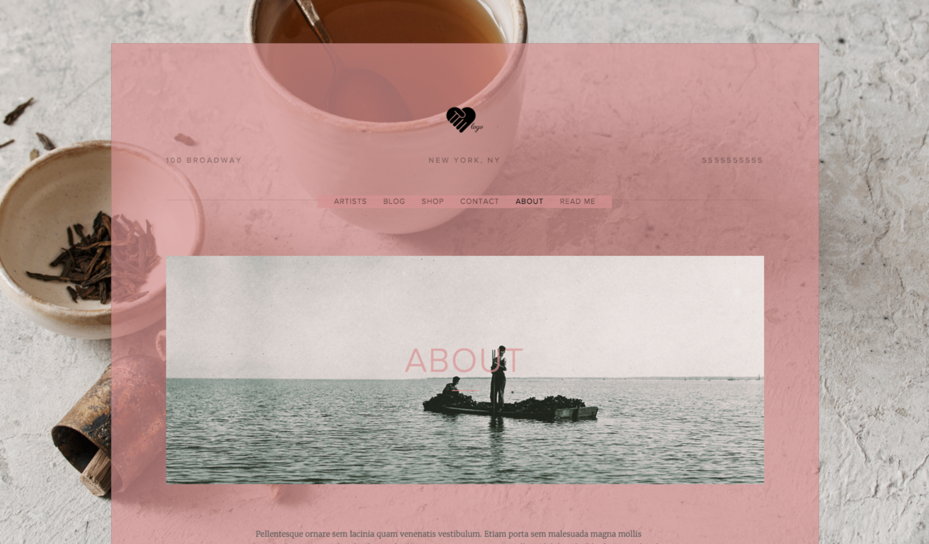 squarespace how to make color text block