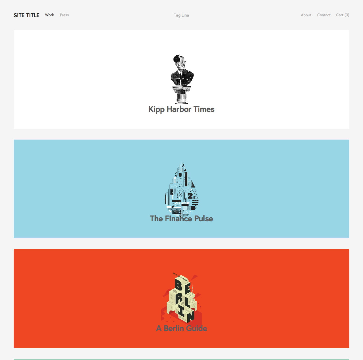 Using the york template squarespace help for Squarespace portfolio templates