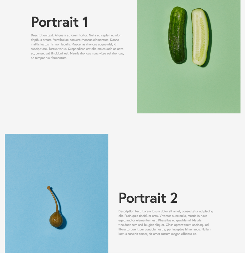 squarespace help using the york template