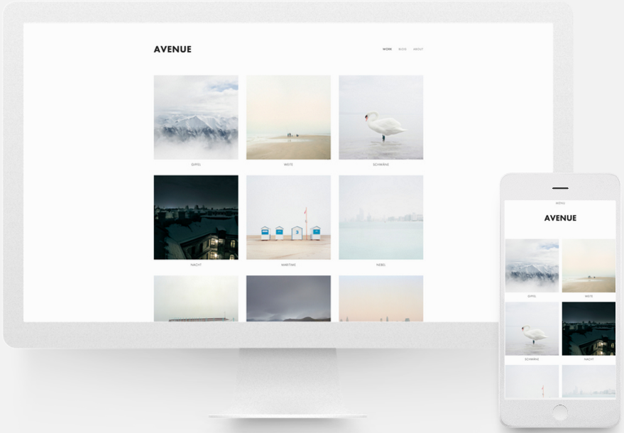 Squarespace help building a portfolio site select a template pronofoot35fo Gallery