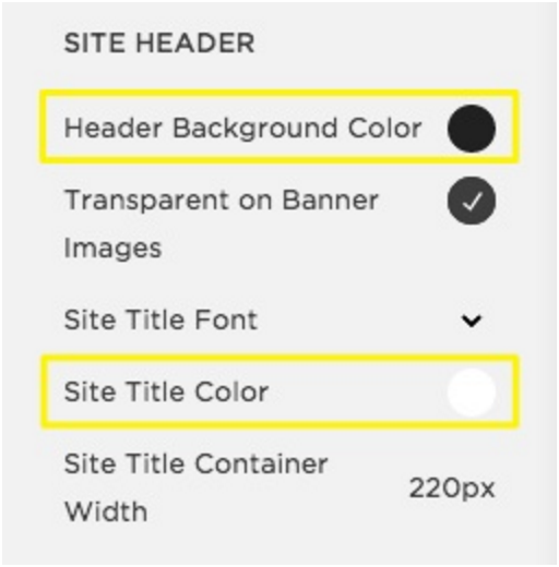Changing colors – Squarespace Help