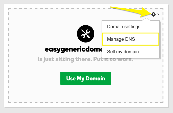 Squarespace Help - Manually connecting a GoDaddy domain to your ...