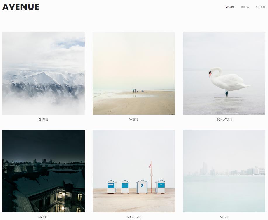 Creating thumbnail image navigation – Squarespace Help
