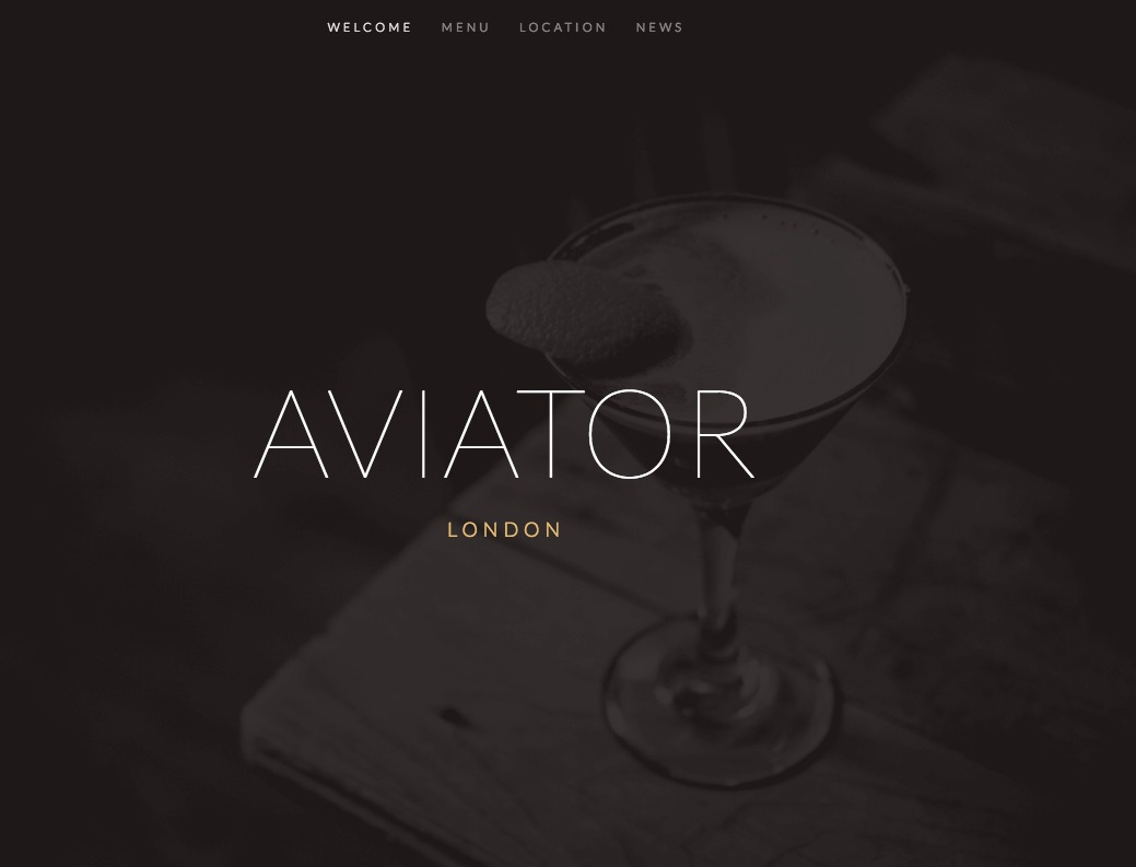 aviator  Squarespace Help - Using the Aviator template
