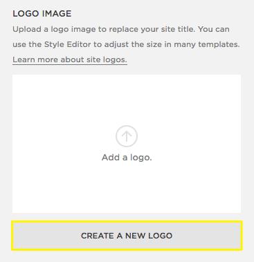 Adding A Site Logo Squarespace Help