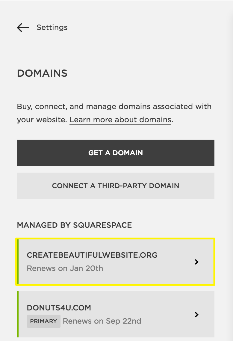 squarespace help transferring a away from squarespace step 1 unlock the