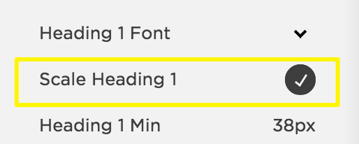 Scaling fonts – Squarespace Help