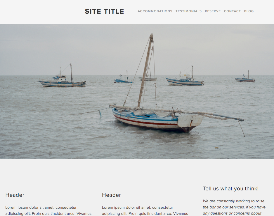 Full-bleed images – Squarespace Help